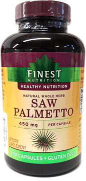Finest Nutrition Saw Palmetto