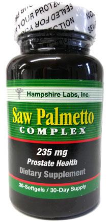Saw Palmetto Complex - Hampshire Labs, Inc