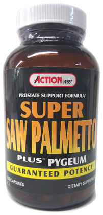 Super Saw Palmetto Plus Pygeum - Action Labs
