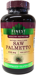 Saw Palmetto - Finest Nutrition