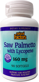 Saw Palmetto With Lycopene - Natural Factors