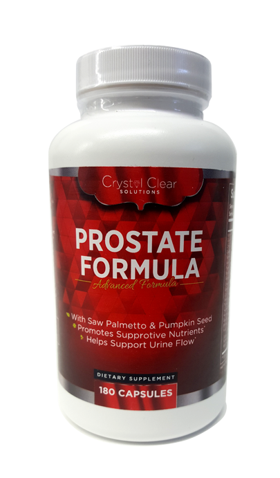 Prostate Formula - Crystal Clear Solutions