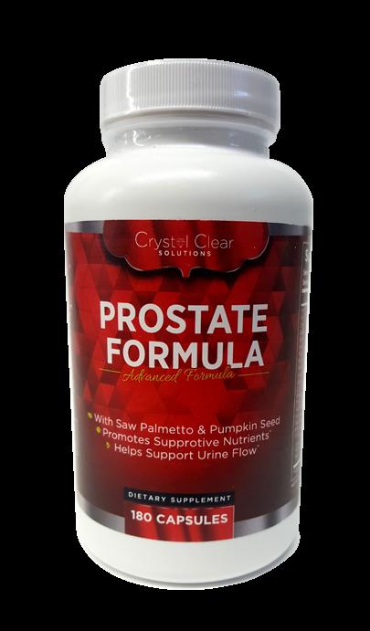 Prostate Formula - Crystal Clear