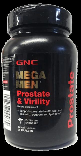 GNC Mega Men Prostate & Virility - GNC