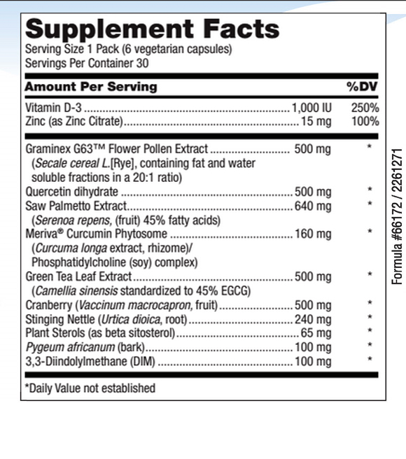 Prost P 10x supplement facts