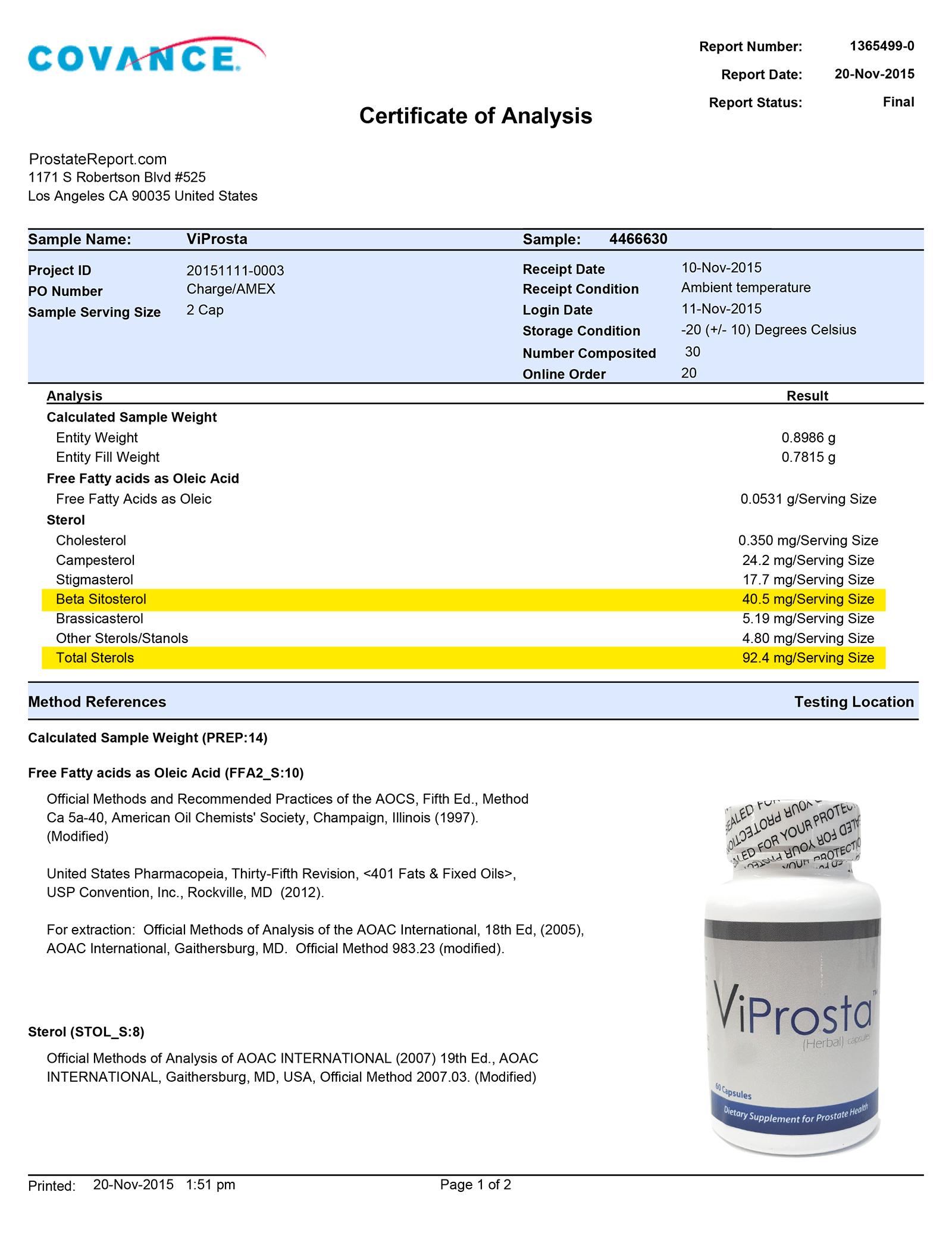 ViProsta lab report