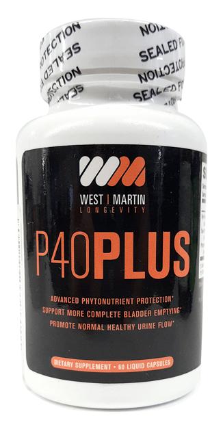 P40 Plus - West & Martin Longevity