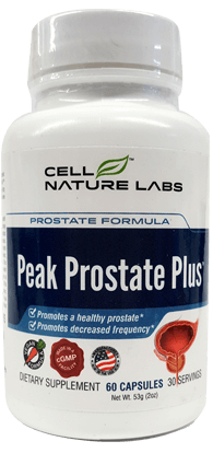 Peak Prostate Plus - Cell Nature Labs
