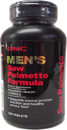 Men's Saw Palmetto Formula - GNC