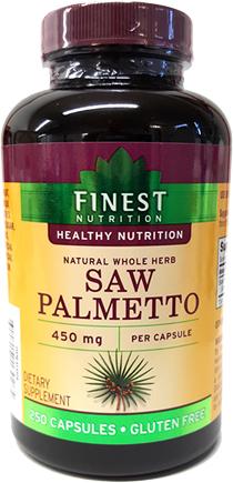 Saw Palmetto - Finest Nutrition
