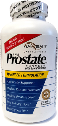 The Prostate Formula - Real Health Laboratories