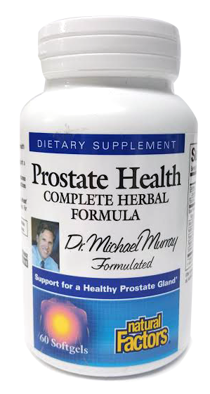 Prostate Health Complete Herbal Formula - Natural Factors