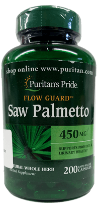 Flow Guard Saw Palmetto - Puritan's Pride