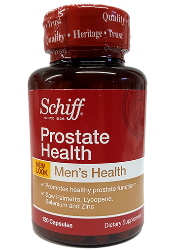 Schiff Prostate health bottle